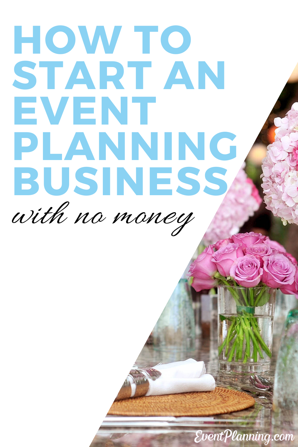 Contrary to popular belief, it's easy to start event planning with no money. Event planning is an exciting path that can be incredibly profitable for many people. If you're wondering how to start your wedding or event planning business. This is the post for you! #weddingbusiness #marketing