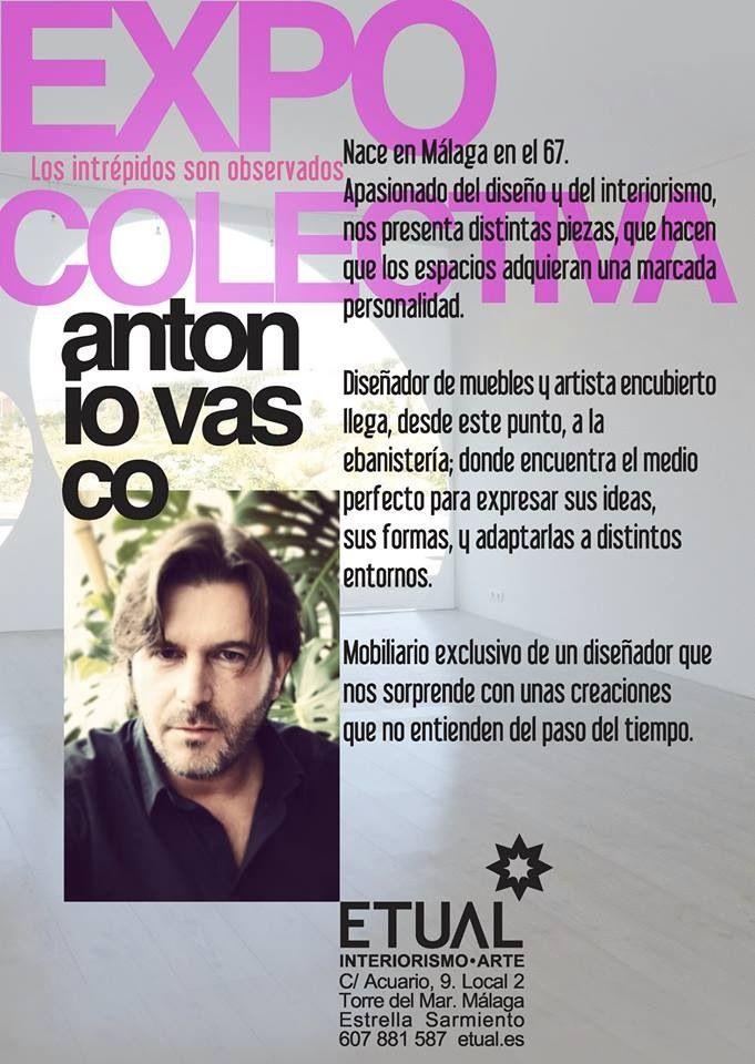 Antonio Vasco en Etual interiorismo arte