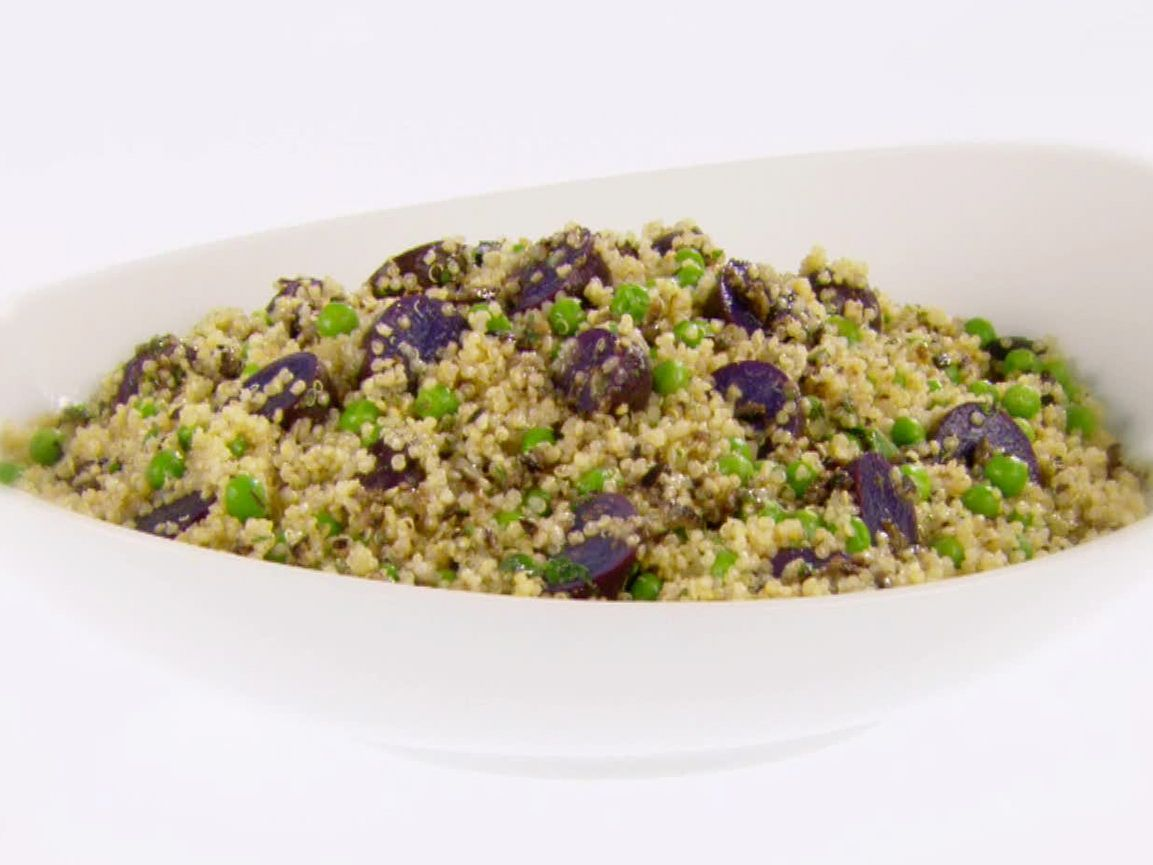 Quinoa and purple potato salad recipe purple potatoes potato quinoa and purple potato salad recipe purple potatoes potato salad and quinoa forumfinder Choice Image