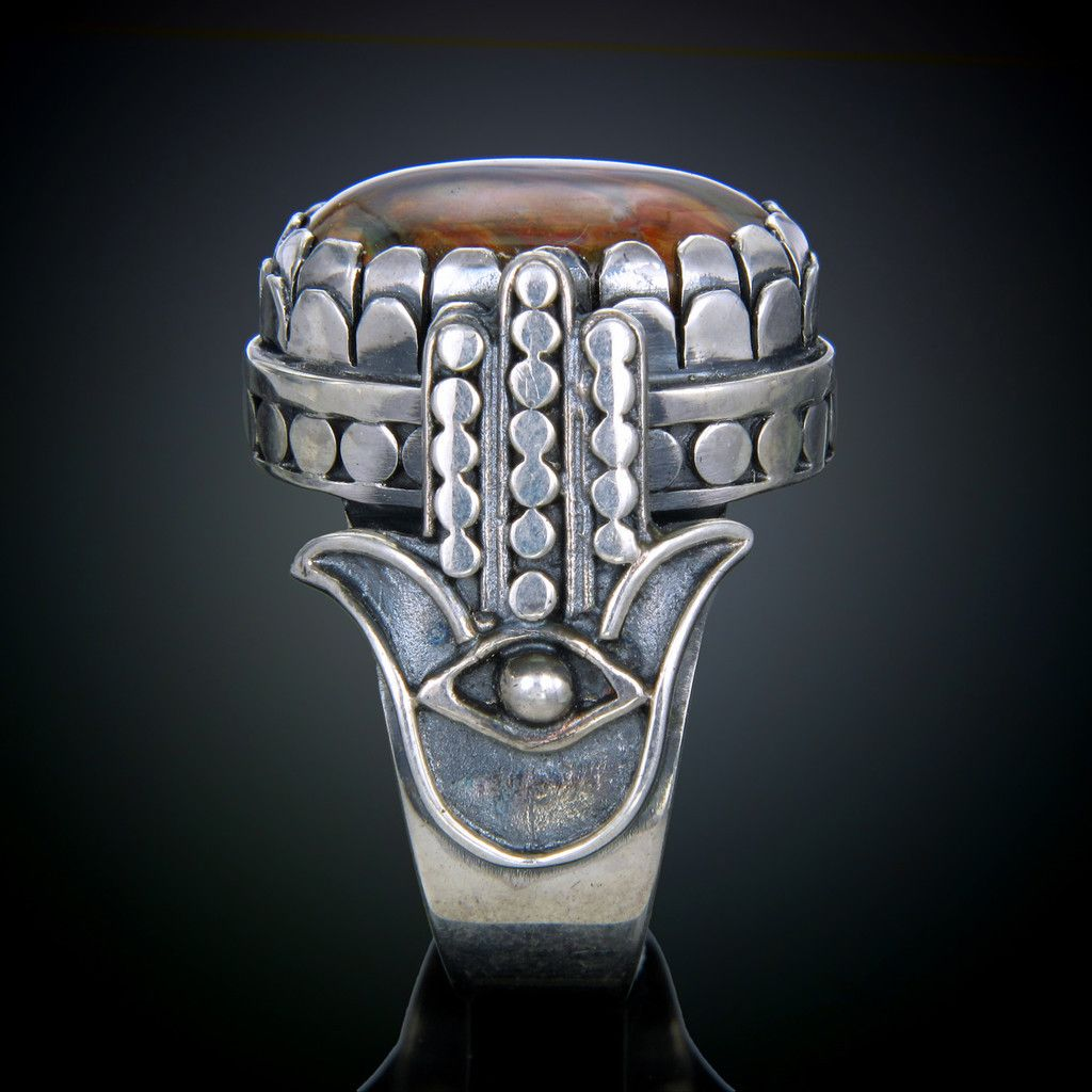 pin kohl pietersite men sterling ring s silver rings and