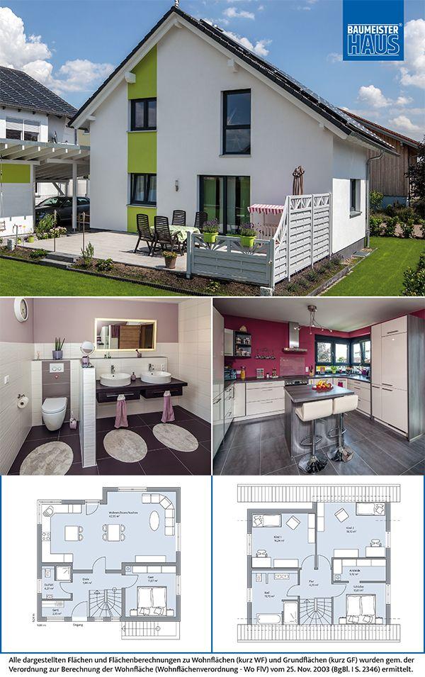 Haus maiwald komfort für eine 4 köpfige familie auf kleiner fläche mit kompakten außenmaßen ist dieses rund 205 m2 große einfamilienhaus ein