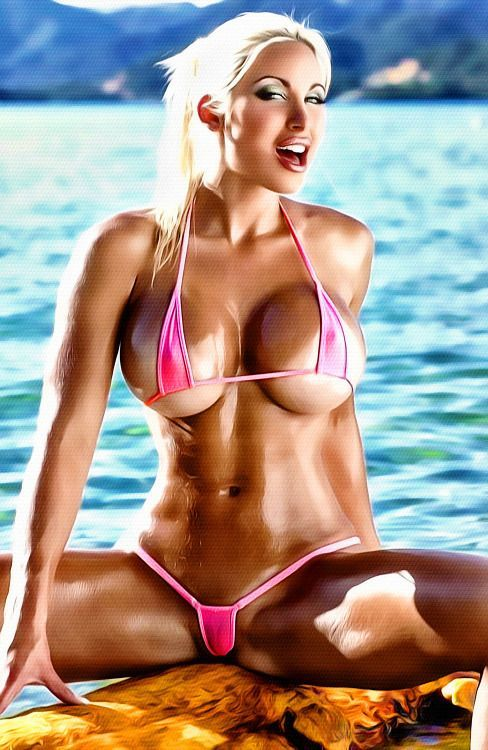Sheer sexy mini miro brazilian bikini