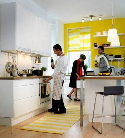 en la decoración de la cocina