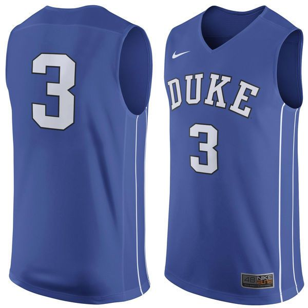 #3 Duke Blue Devils Nike Replica Jersey - Royal. Basketball ...