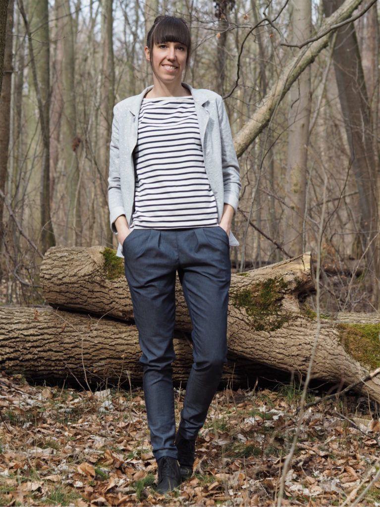online letzte Veröffentlichung größter Rabatt Schnittmuster nähen Jeans Hose COS Evlis Needle 10 | Nähen ...