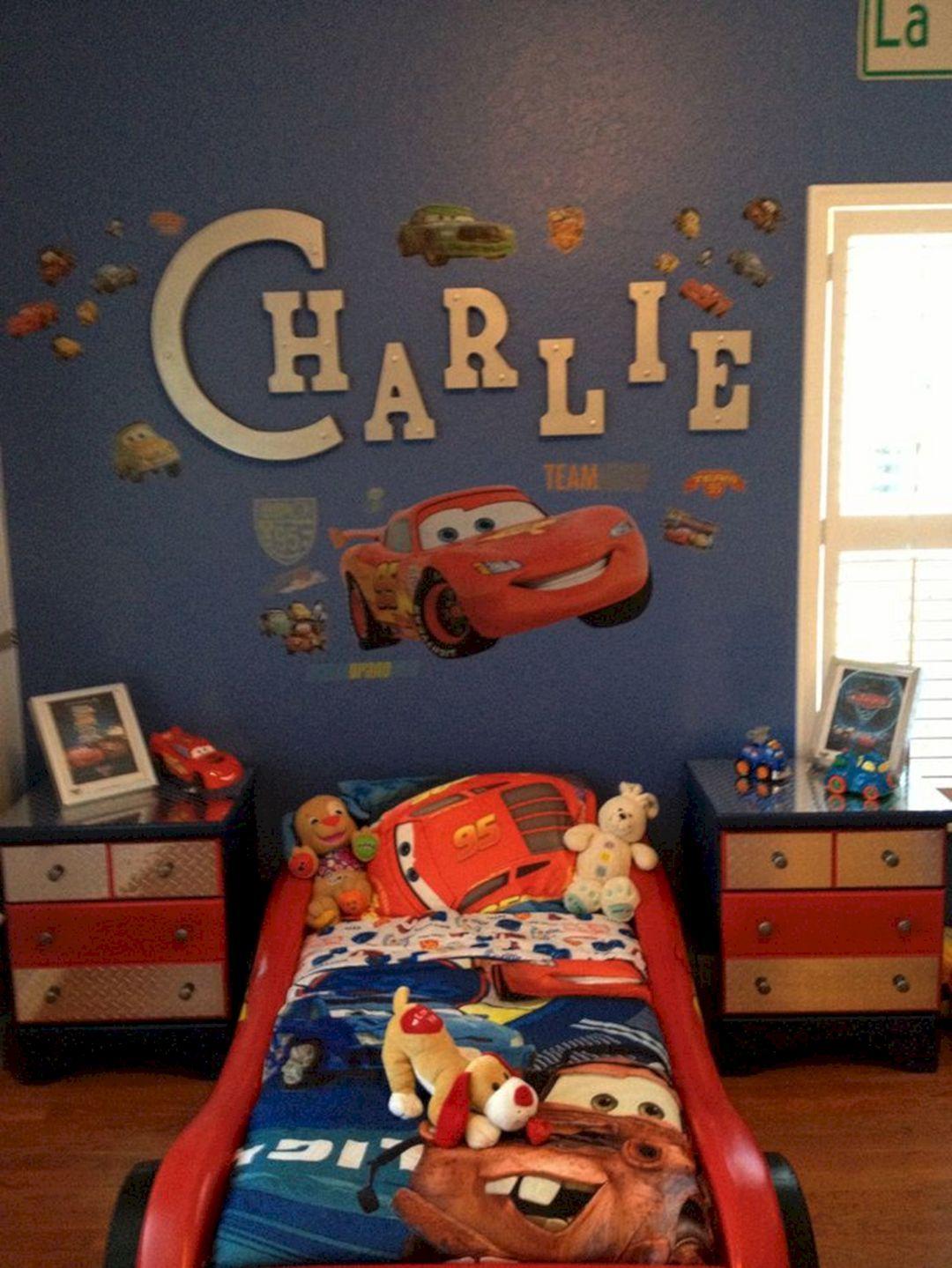 Breathtaking 36 Amazing Car Themed Kids Bedroom Design Ideas
