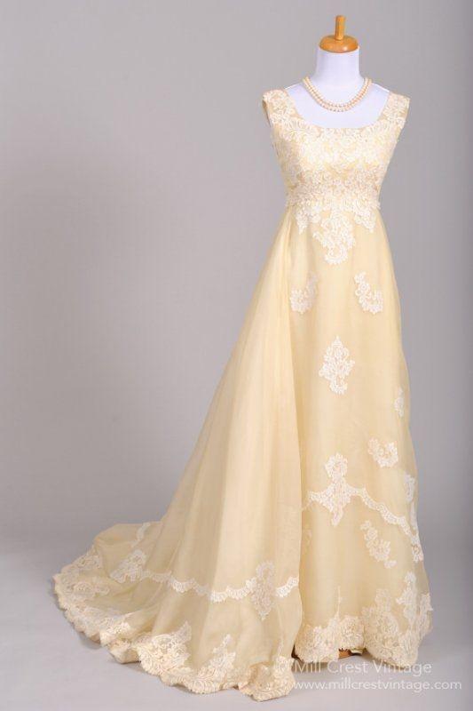 Designer unknown / unbekannt wedding dress 1960\'s Bianchi of Boston ...