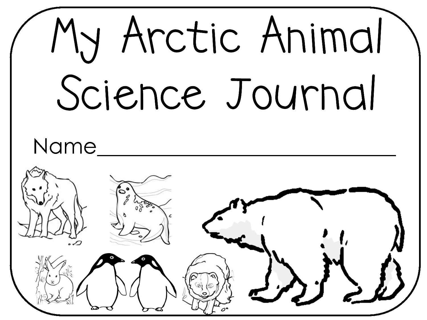 sid the science kid coloring pages | Arctic animals coloring pages ...