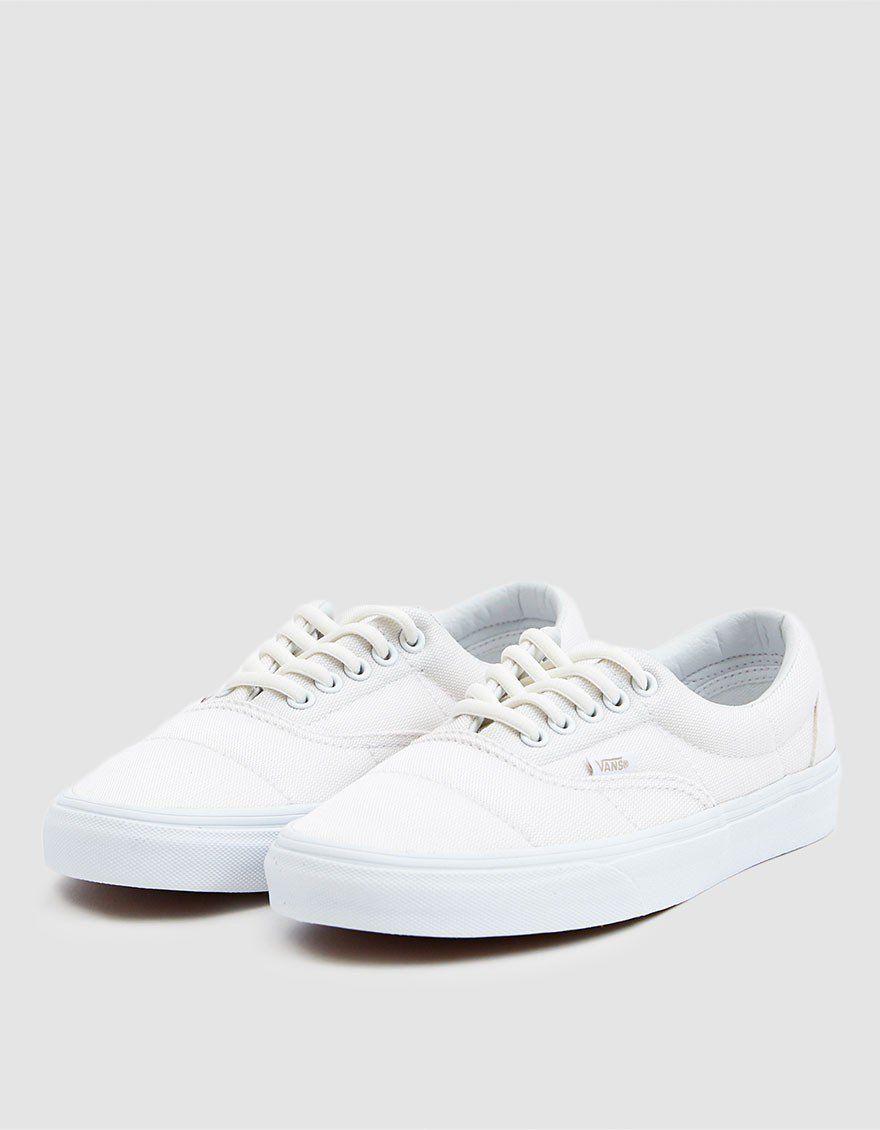 Vans / Puffer Era Sneaker in True White