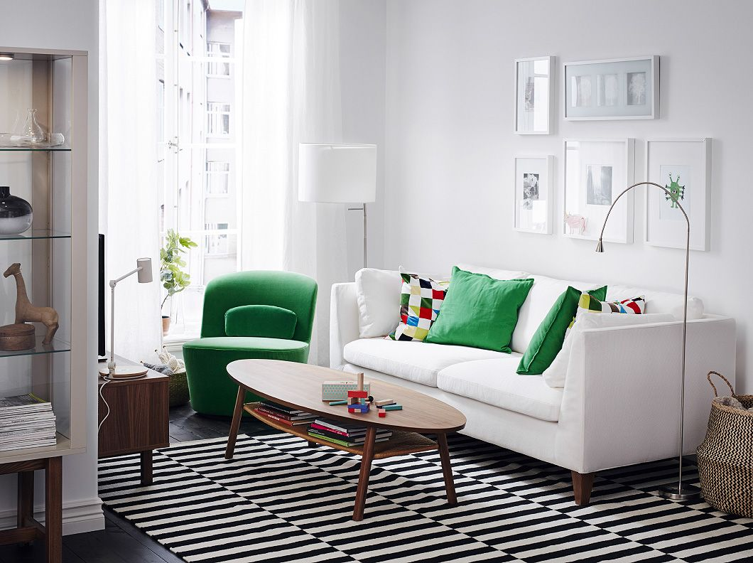 Ikea Us Furniture And Home Furnishings Small Living Room Design Couches Living Room Bright Living Room