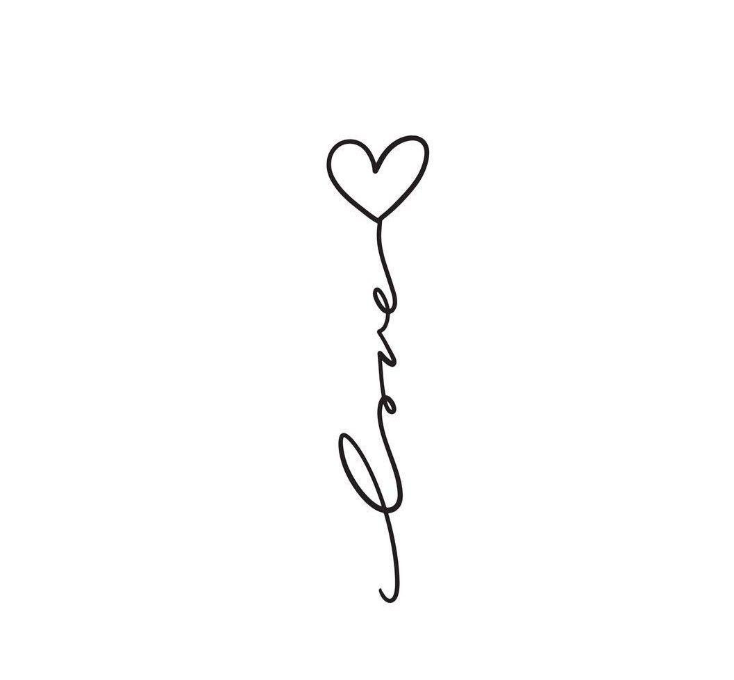 Heart Tattoo Tattoo Heart Tattoo Tattoo Tiny Heart Tattoos Love Wrist Tattoo Pretty Tattoos