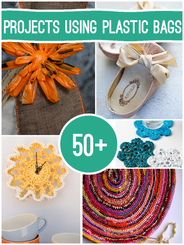 50 Ways To Upcycle Plastic Bags With Images Plastic Bag