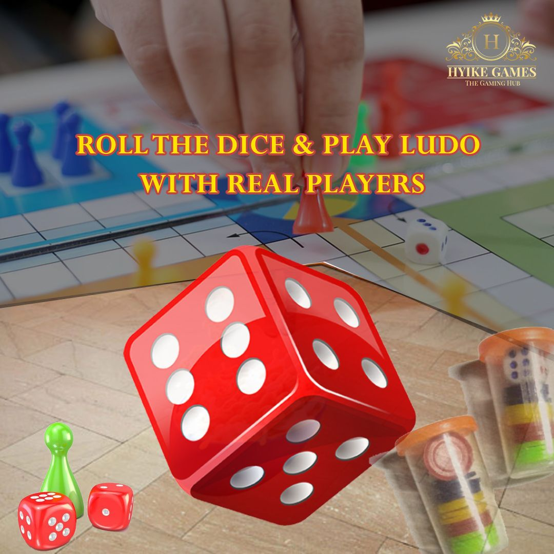 Roll the dice & play LUDO with real players, family