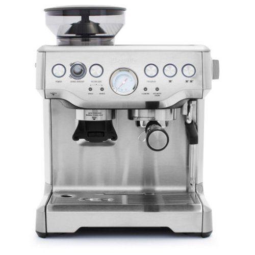 Breville Bes870xl Barista Express Espresso Machine Commute Coffee Espresso Machine Best Espresso Machine