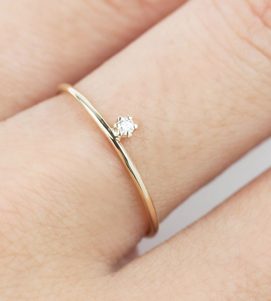 Gold Streaks Diamond Ring by Envero Jewelry on Scoutmob
