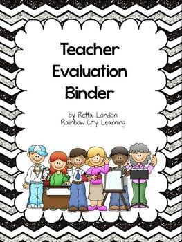 Teacher Evaluation Binder  The OJays The Back And Backgrounds