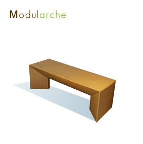Banc En Carton Modularche Site Http Modularche Fr Mobilier En Carton Meuble En Carton Mobilier De Salon