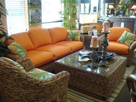 Sunshine Wicker And Design Pompano Beach Fl Indoor Rattan Furniture Tropical Furniture Wicker