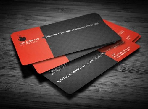 Business Card Rounded Corners Business Card Inspiration Business Card Template Design Business Card Design Creative