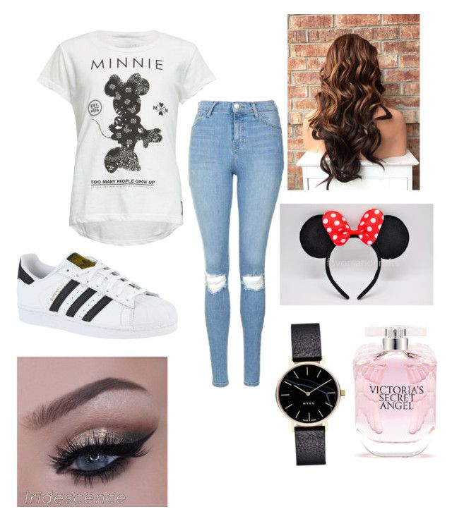 """Disneyland "" by isabellmurillo on Polyvore featuring Neff, Topshop, adidas and Victoria's Secret"
