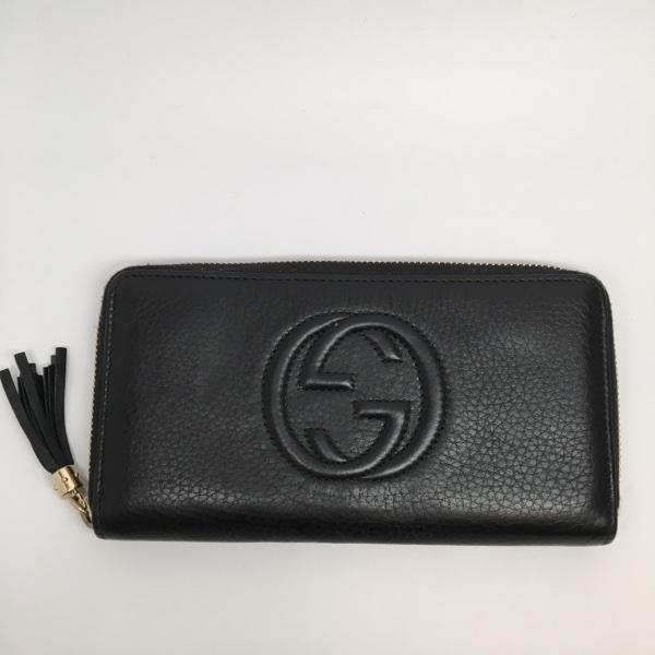 9d40d4fb822959 Gucci Black Leather Soho Wallet $495 #gucci #gucciwallet #NSE  #northshoreexchange
