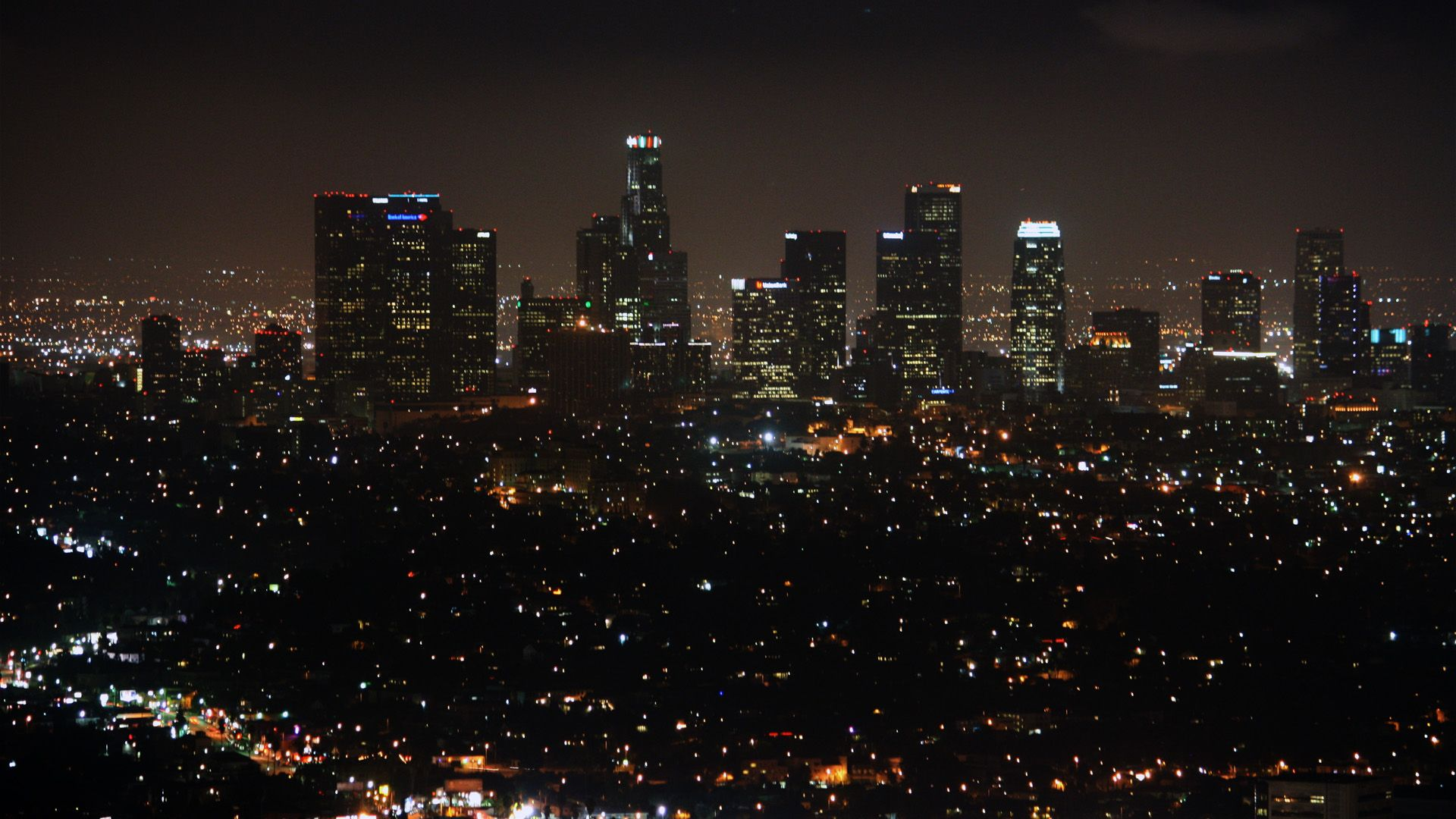 Lights Of La 1920x1080 Need Iphone 6s Plus Wallpaper Background For Iphone6splus Follo Los Angeles Wallpaper Los Angeles Skyline Los Angeles At Night