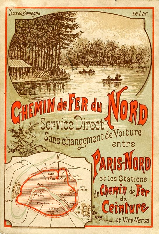 Petite Ceinture Poster Trains Affiches De Voyage Affiches De Voyage Retro Et Petite Ceinture Paris