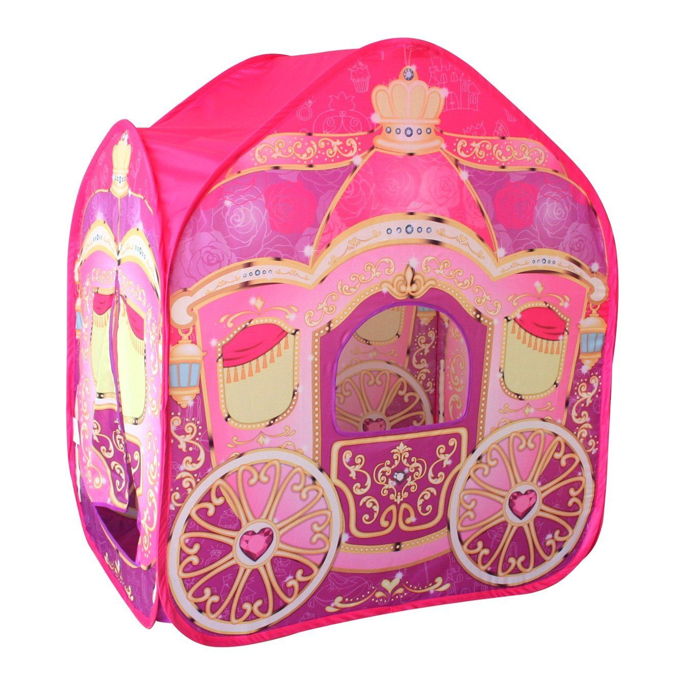 NewPrincess Carriage Cinderella Wagon Pop-up Play Tent Girls Pretend Playhouse This Cinderella Wagon Carriage Pop-up Play Tent is an adorable gift for all ...  sc 1 st  Pinterest & Amazon.com: POCO DIVO Princess Carriage Cinderella Wagon Pop-up ...