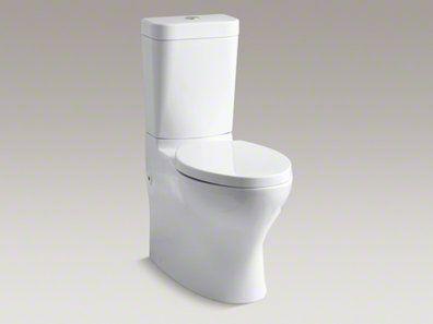 Kohler Makes Good Thrones Like This Dual Flush Model Dual Flush Toilet Toilet Contemporary Toilets
