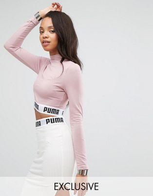 86642f7f2f Puma - Sweat court d'ensemble à encolure montante - Exclusivité ASOS