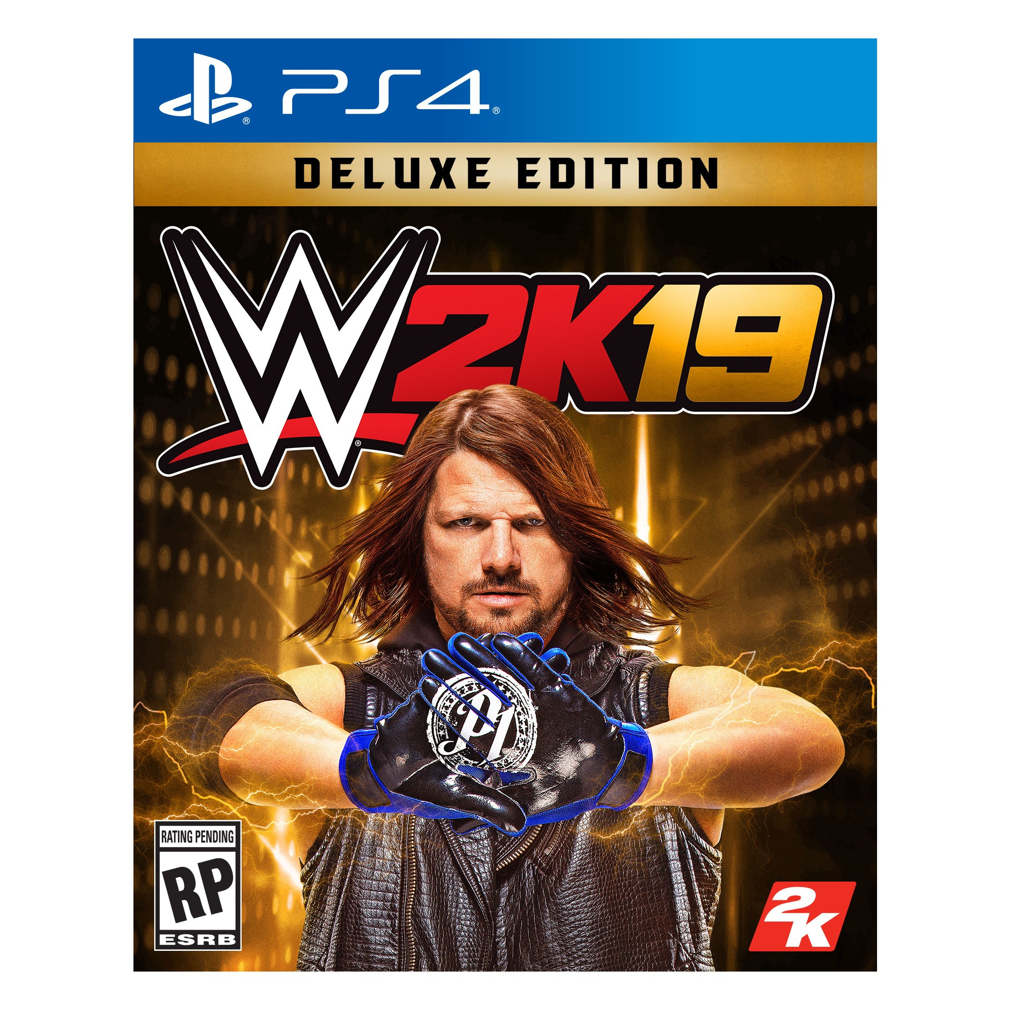 WWE 2K19 Deluxe Edition PlayStation 4 Xbox one, Wwe