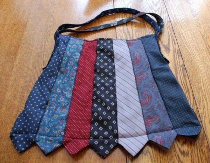 Tie Bag - no tutorial