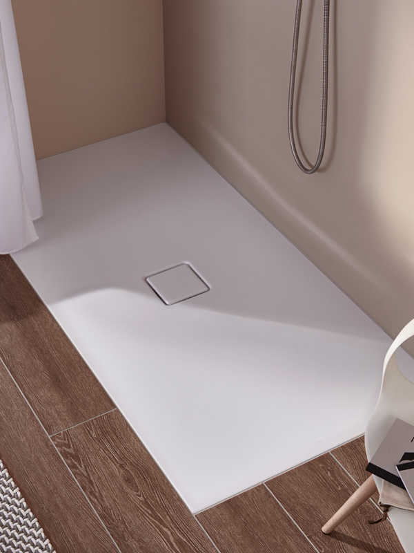 For Elegant Aesthetics Unlimited Freedom Of Movement And Maximum Comfort Underfoot The Floor Level Shower Conoflat