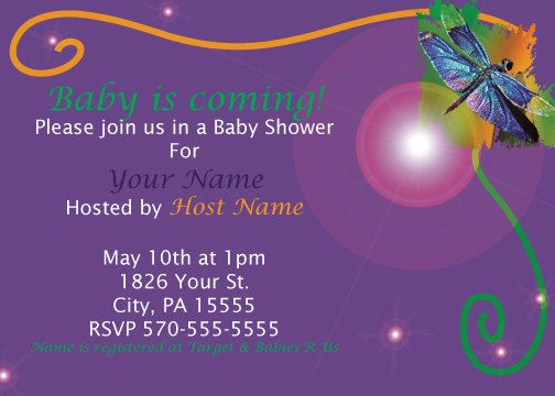 Dragonfly baby shower invitation by broadgirl on etsy invitations dragonfly baby shower invitation by broadgirl on etsy filmwisefo