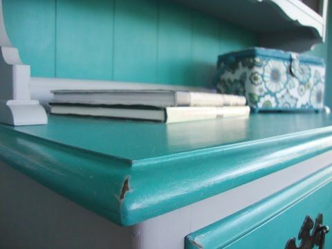 How to transform a dining room hutch using Annie Sloan Chalk paint ...