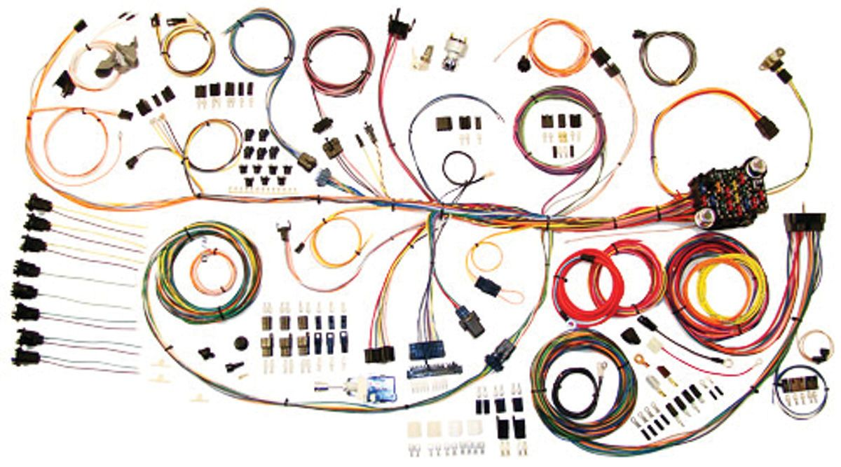 Wiring Harness Kit, American Autowire, Classic Update