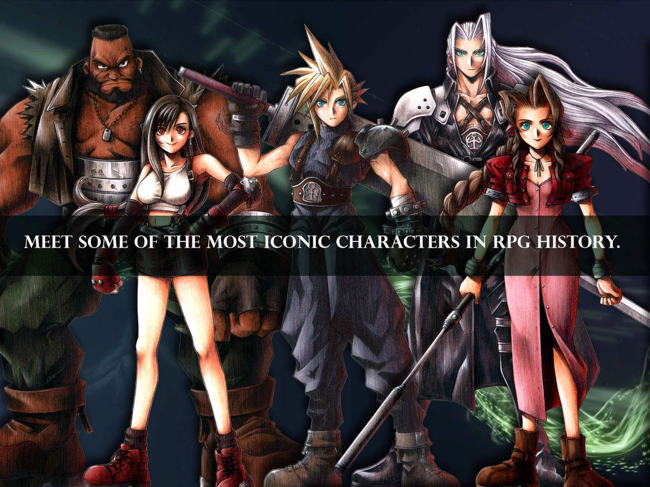 Square Enix's Final Fantasy VII for iOS is Released