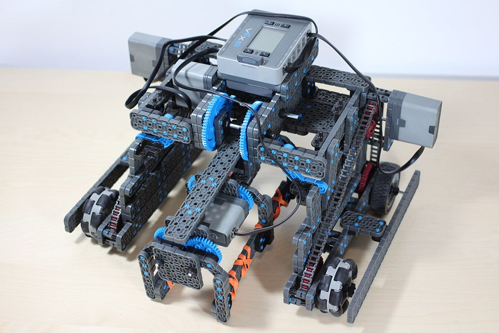 Vex IQ robotics club 04-08-2015 practice write up. During the ...