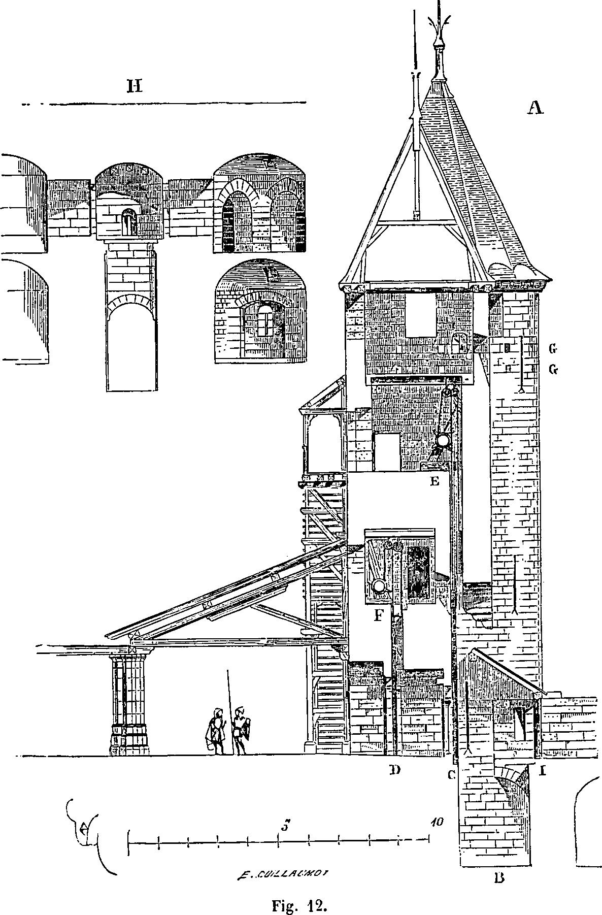 Https Upload Wikimedia Org Wikipedia Commons 9 91 La Cite De Carcassonne Figure 12 Png Castillo Medieval Castillos Ilustracion Historica