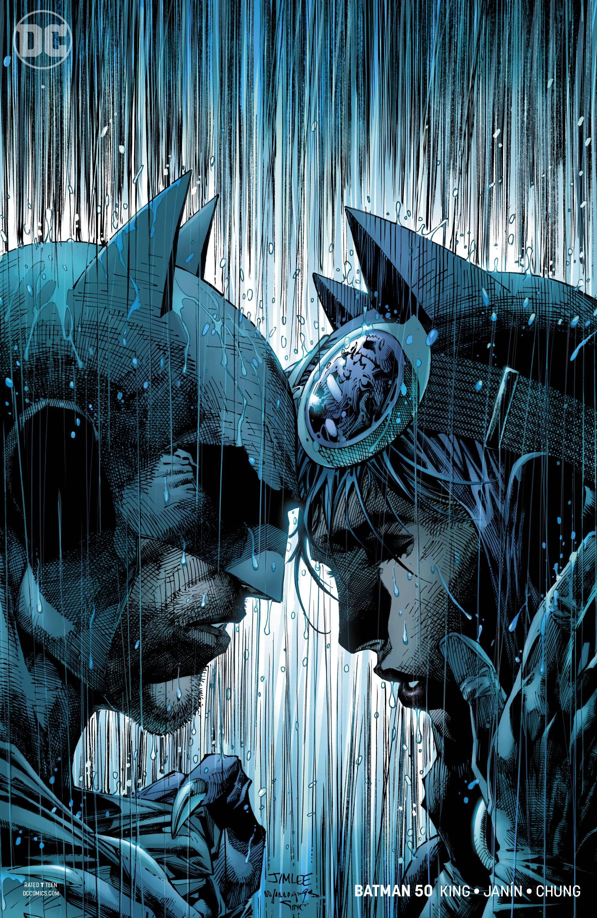 Batman #50 Jim Lee Variant WEDDING ISSUE DC Comic Book 2018 NM First Print