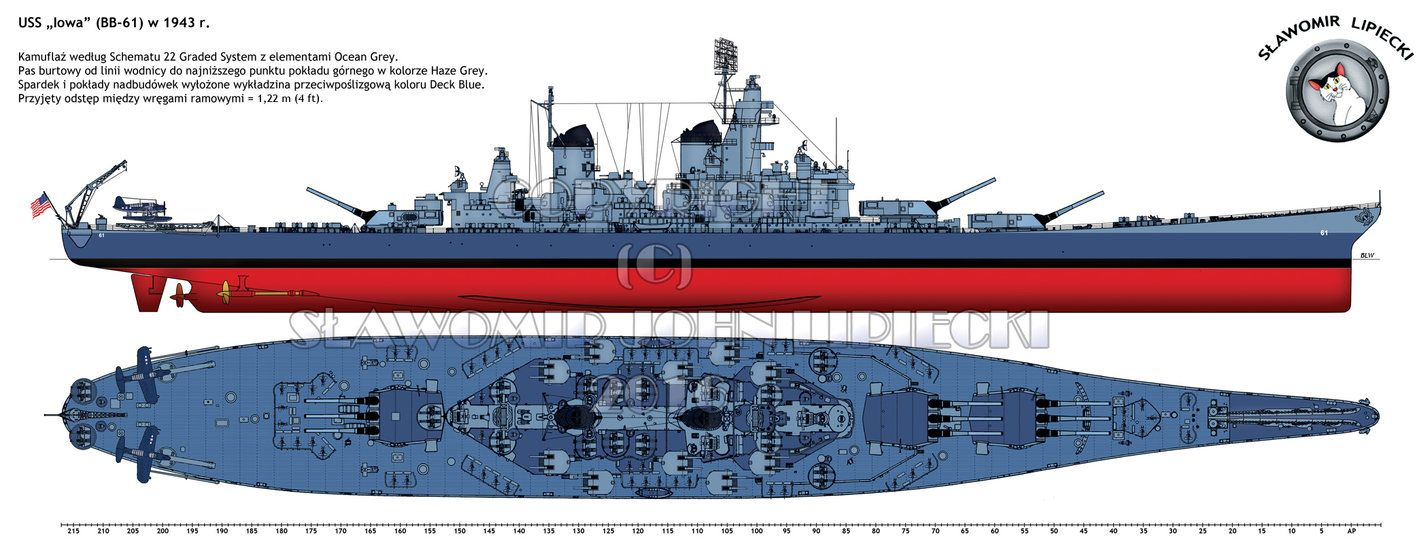 small resolution of the battleship uss iowa bb 61 in 1943