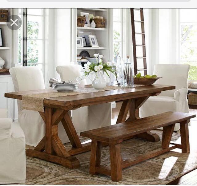 Gorgeous harvest table | Cozinhas | Pinterest