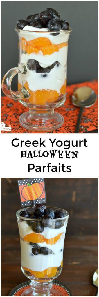 #devouring #something #halloween #halloween #breakfast #parfaits #couldnt #healthy #besides #easier #yogurt #before #cuter #these #candyLoad your kids up on something healthy Greek Yogurt Halloween Parfaits for breakfast before they start devouring Halloween candy! It will make you feel like and good mom, and besides that these couldn't be easier or cuter! #halloweenbreakfastforkids #devouring #something #halloween #halloween #breakfast #parfaits #couldnt #healthy #besides #easier #yogurt #bef #halloweenbreakfastforkids