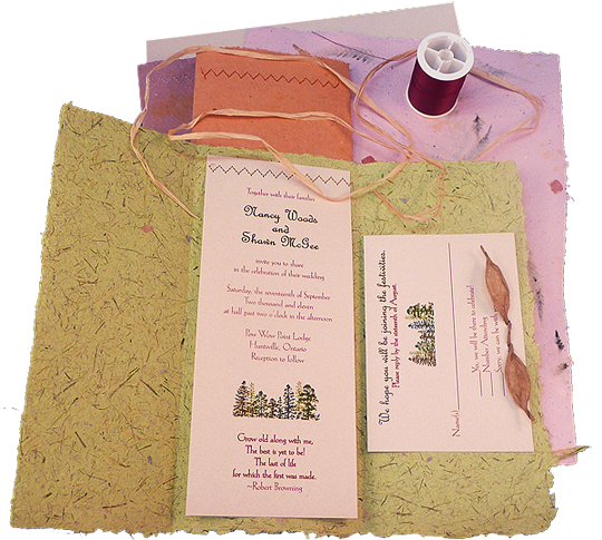 Recycled paper wedding invitations from twisted limb paperworks i recycled paper wedding invitations from twisted limb paperworks i got the sample from them solutioingenieria Gallery