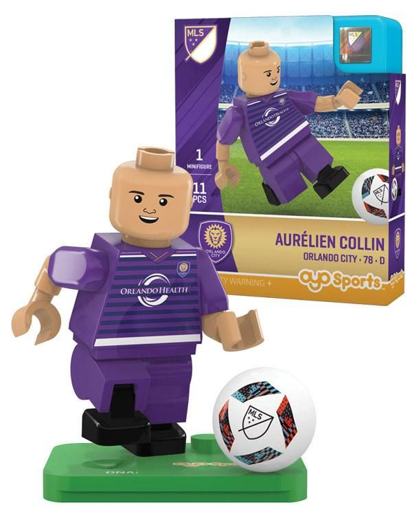 Orlando City AURÉLIEN COLLIN Limited Edition OYO Minifigure