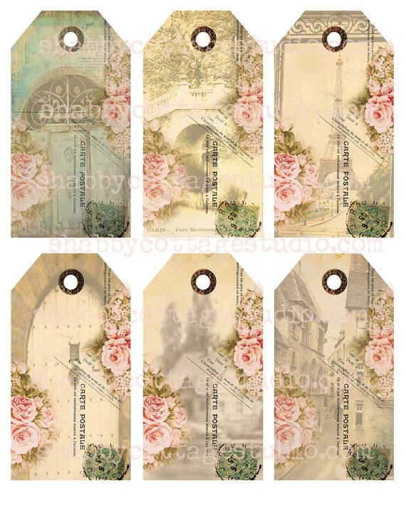 Printable Collage Sheet Download JPG Digital File ViNTAGE Antique Maps  HangGift Tags LaBELS-INSTaNT DOWNLoAD