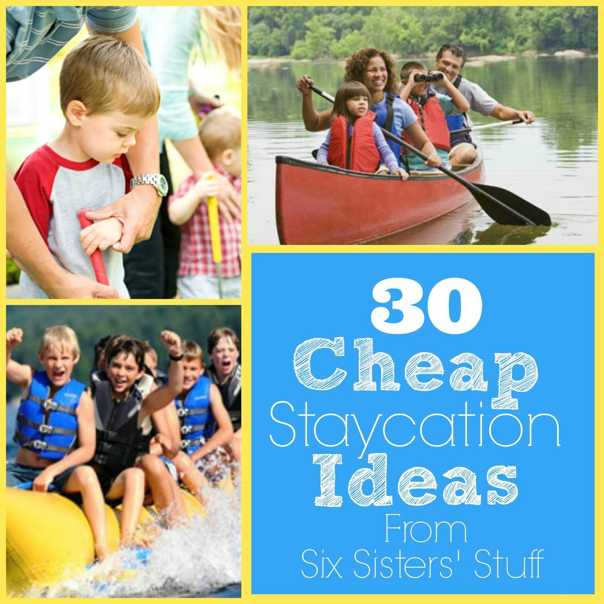 30 Cheap Staycation Ideas Check out these great ideas to