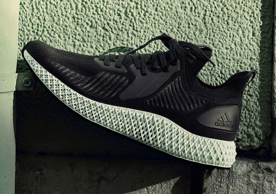 adidas Alphaedge 4D Parley Triple White Core Black Release