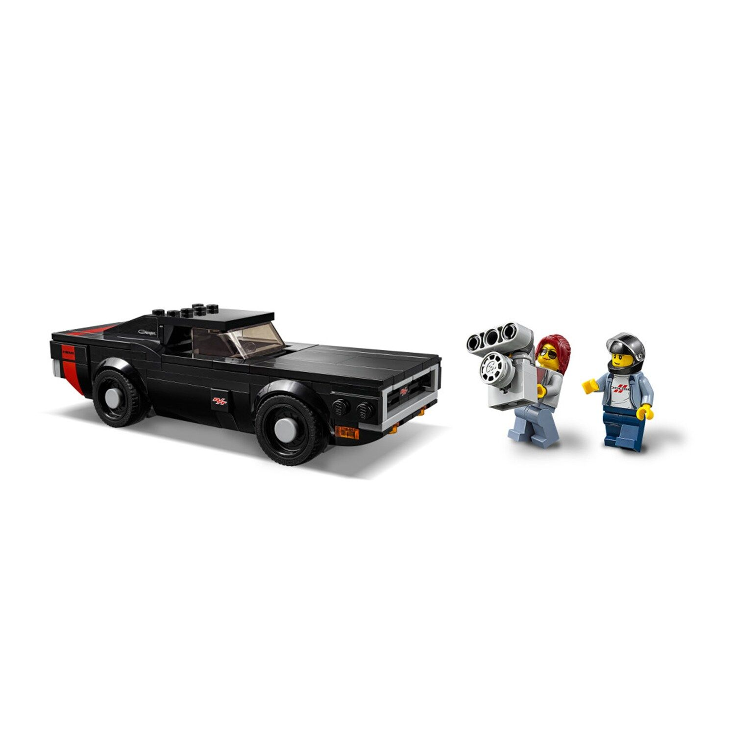 LEGO Speed Champions 2018 Dodge Challenger SRT Demon and 1970 Dodge Charger R//T
