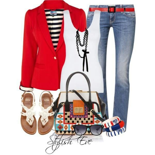 Cute Red Blazer